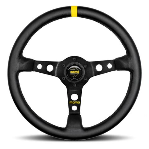Momo Mod.07 Leather 350mm Steering Wheel