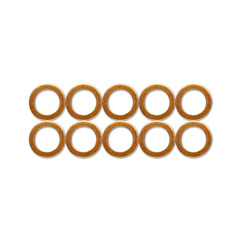HEL Copper Crush Washers