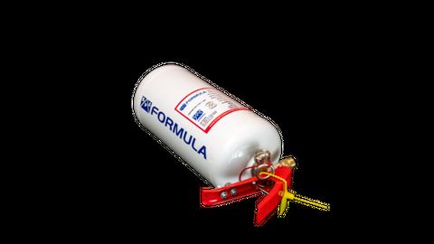 SPA 2.25 Litre Alloy Mechanical FIA Fire Supression Kit