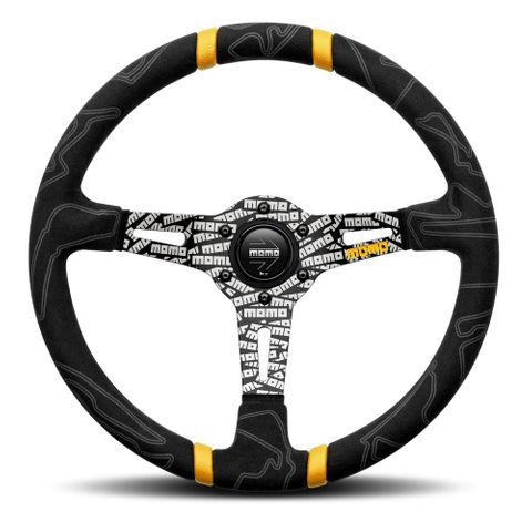 Momo Steering Wheel Ultra Black 350mm