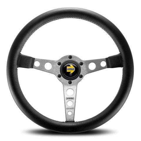 Momo Steering Wheel Prototipo Silver 350mm