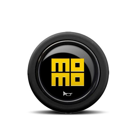 Momo Glossy Heritage Horn Button