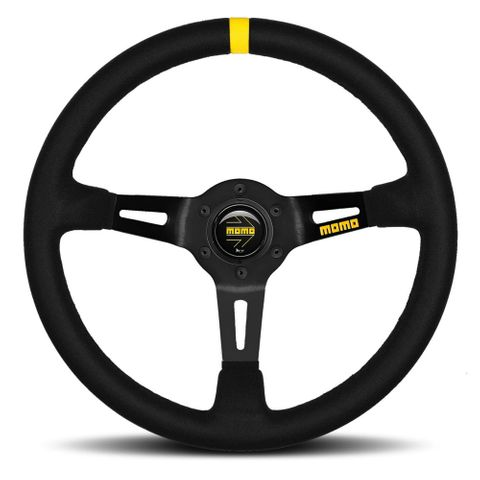 Momo Mod.08 Suede 350mm Steering Wheel
