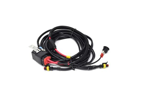 Lazer Two-Lamp Harness Kit With Switch (Long)