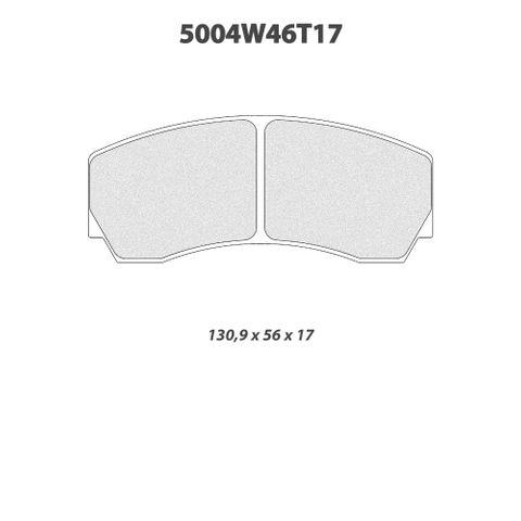 CL Brakes - 5004W46T17 Brake Pads
