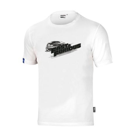 Sparco Fast & Furious Black and White T-Shirt