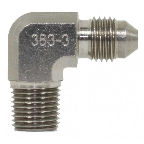 """Adpater 90° 1/8"""" Npt To -3an"""