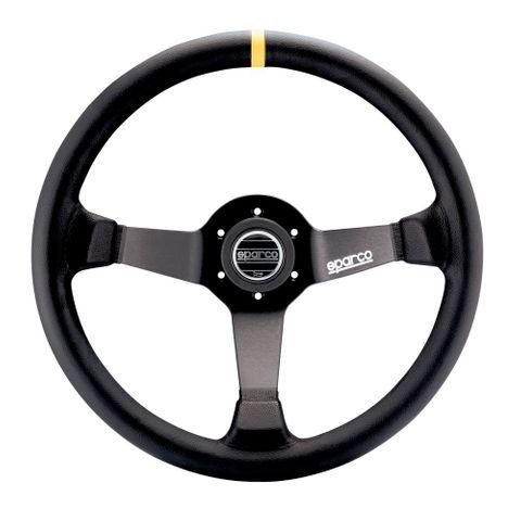 Sparco R345 Leather 350mm Racing Steering Wheel