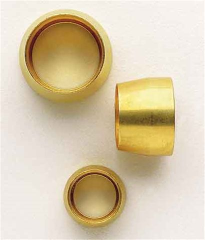 Aeroquip Sleeve Teflon Fitting - Brass
