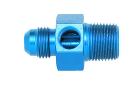 Aeroquip AN-Pipe Pressure Gauge Adapter