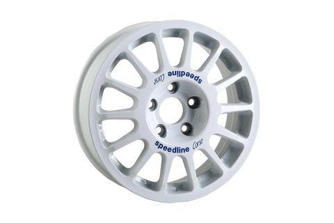 Speedline Type 2118 Gravel Rally Wheel in White