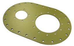 ATL Blank Aluminium Plate
