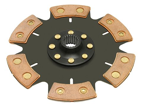 "Clutchnet Racing 6 Pad ""QUICK LOCK"" Solid Hub Clutch Disc"