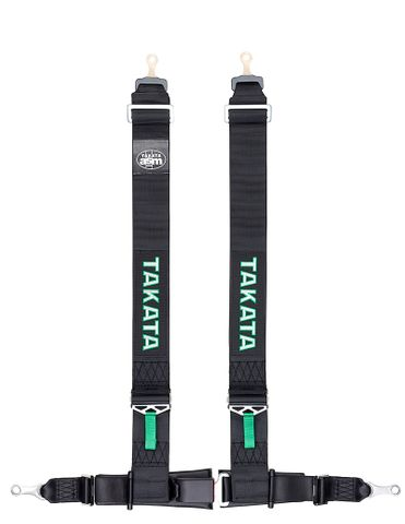 Takata DRIFT Series III 4pt Street Belts - Bolt on