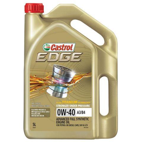 Castrol Edge 0W-40 5Litre