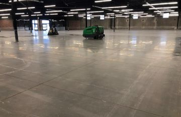 Ever considered polishing up to 1000m2 of concrete floors in a day?