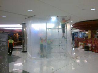 Zipwall Dust Containment
