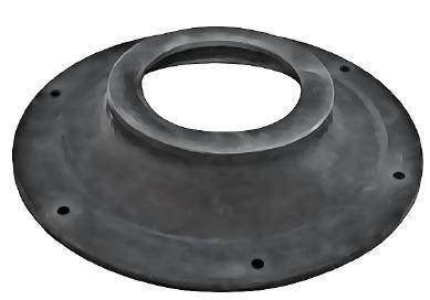 "Holer 125mm (5"") Replacement Rubber Diaphram - neck piece"