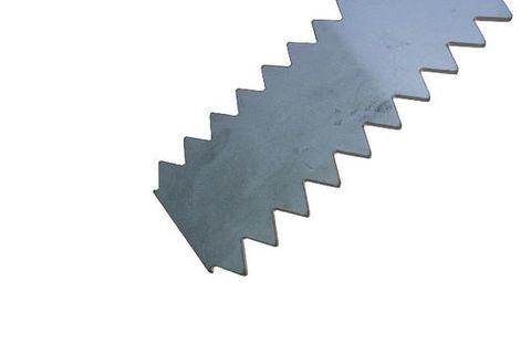 600mm Double Notched Rake - 10mm Notch Teeth