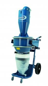 Dustcontrol DCF8000a Pre-Separator with Longopac Dust Collection