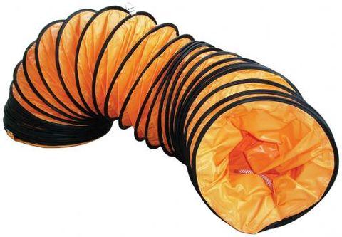 300mm x 5m Flexible Fan Ducting - Orange