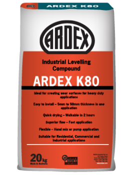 Ardex K80 Industrial Levelling Compund 20kg