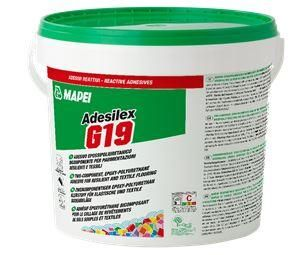 Mapei Adesilex G19 - 5kg Two-part polyurethane adhesive for rubber and PVC flooring