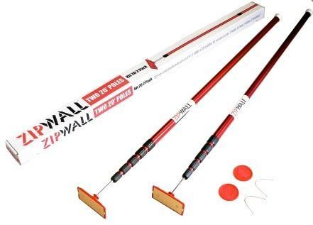 Zipwall 2 x LARGE Spring-Loaded Poles