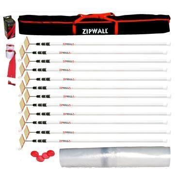 Zipwall 12 Pole Mega Kit