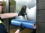 Glass Protection Roll/ Window Film 610mm wide x 100m long