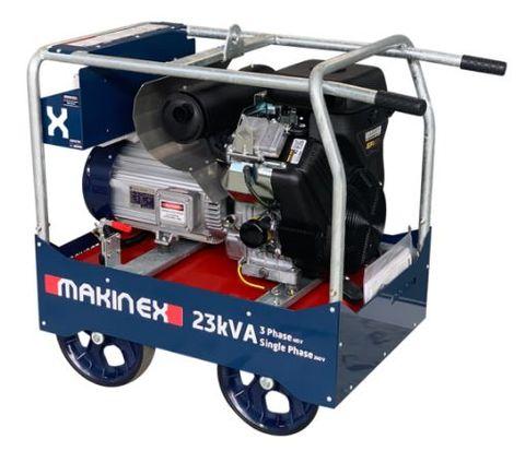 Makinex 23kva Petrol Generator