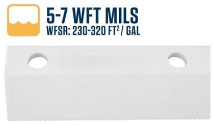 """26""""/ 650mm Scallop Easy Squeegee with 5-7 WFT Mils Blade"""