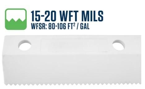 """26""""/ 650mm 3.0mm (15-20 WFT Mils Blade) Scallop Easy Squeegee"""