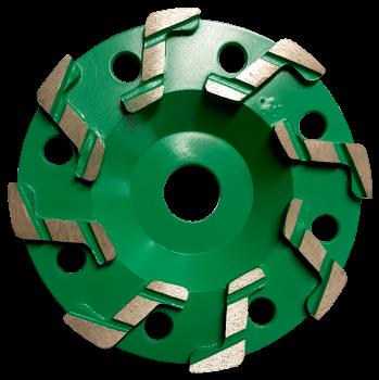 Cobra 125mm (5'') Diamond Grinding Wheel 60/80 Grit