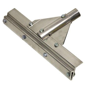400mm (16'') Aluminium squeegee head to suit a cut length of 400mm notched squeegee strip