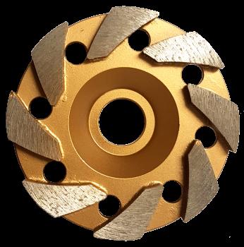 Wing 125mm (5'') Diamond Grinding Wheel 60/80 Grit