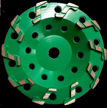 175mm (7'') Cobra Cup Wheel 30/40 Grit