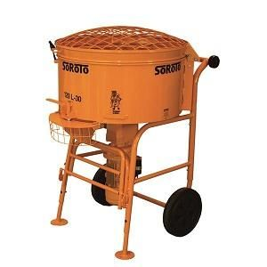 SOROTO Forced action mixer  - 120L w/steel paddles