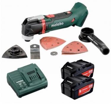 Metabo MT18LTX-K Multi Tool - MT 18 LTX, Accessory Kit,