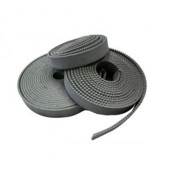 1 metre x Grey EPDM 5mm (3/16'') Notched Rubber Squeegee Blade, reversible rubber