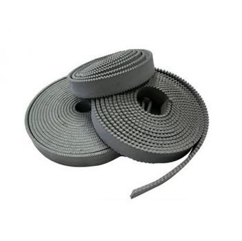 1 metre x Grey EPDM 3mm (1/8'') Notched Rubber Squeegee Blade, Reversable rubber