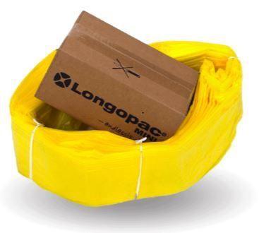Longopac Maxi Yellow Bag - 110m replacement pack