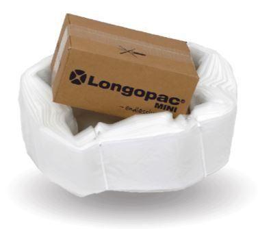 Longopac Maxi Transperant Bag - 110m replacement pack