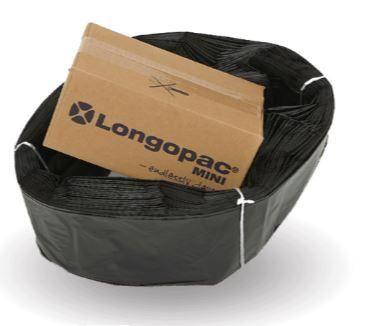 Longopac Maxi Black Bag - 110m replacement pack
