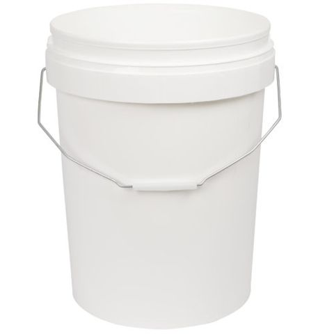 20L Bucket / Pail with lid (price on full pallet)