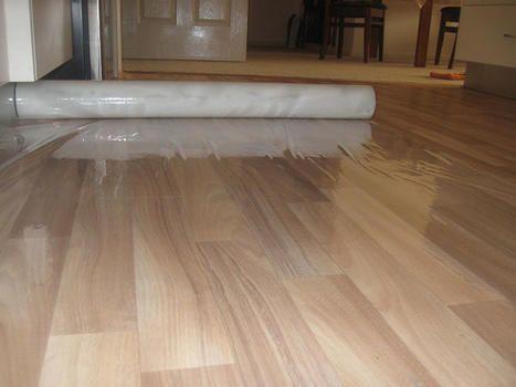 Hard Floor Film Self Adhesive Roll 1.0m x 100m, 100um