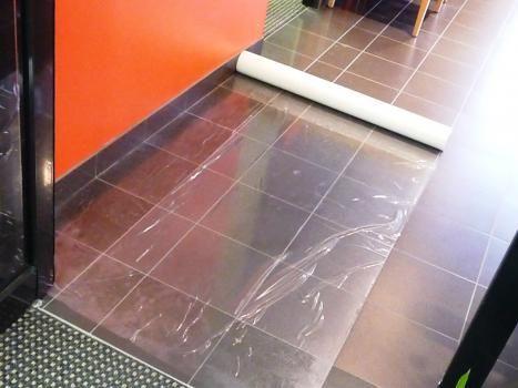 Hard Floor Film Self Adhesive Roll 0.5m x 100m, 100um