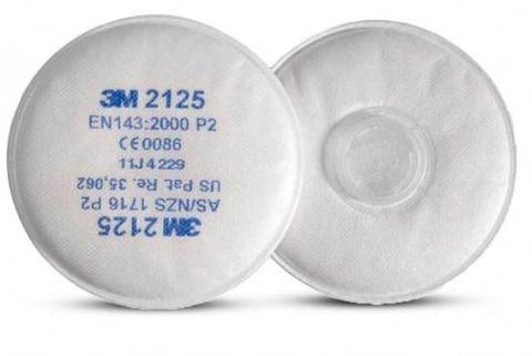 3M 2125 P2 Filter for 6000, 6500QL & 7500 Series Respirators