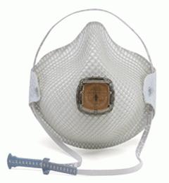 Moldex 2700 05M11 Masks with Handy Strap and Ventex Valve Box of 10