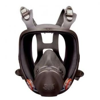 3M 6000 Series Full Face Mask for silica
